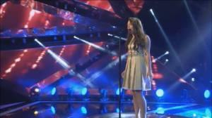 Federica Falzon sings Diamonds at the Semifinal of the MESC 2014