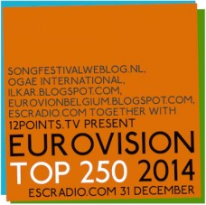 The 2014 edition of the Eurovision TOP 250