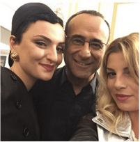 Carlo, Emma e Arisa