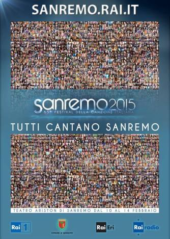 la locandina di questo 65° Festival della Canzone Italiana.