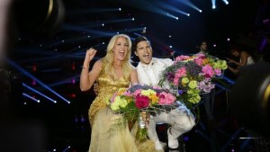 Jessica Andersson y Eric Saade