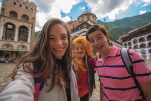 This years postcards will feature selfies from all around Bulgaria and the participating countries!