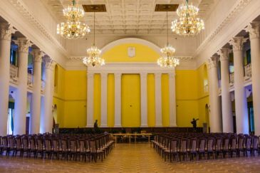 The Column Hall of Kyiv's City State Administration.jpg