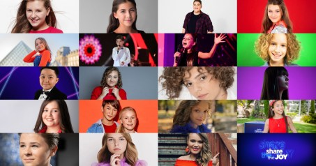 19 participants of Junior Eurovision 2019