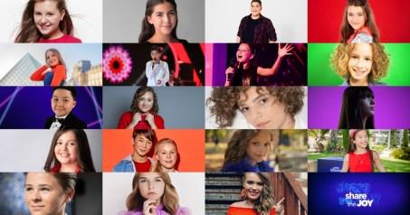 19 participants of Junior Eurovision 2019