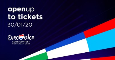 Tickets for Eurovision 2020 in Rotterdam