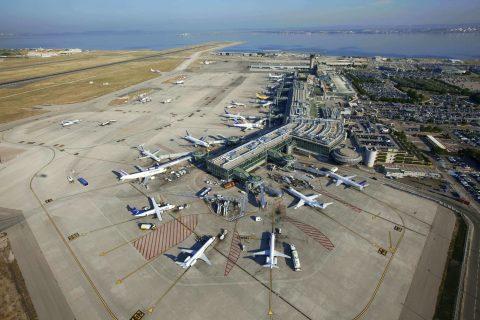 Онлайн-табло аэропорта Марселя
