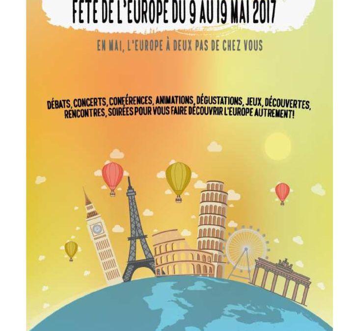 Bilan Fête de l'Europe 2017