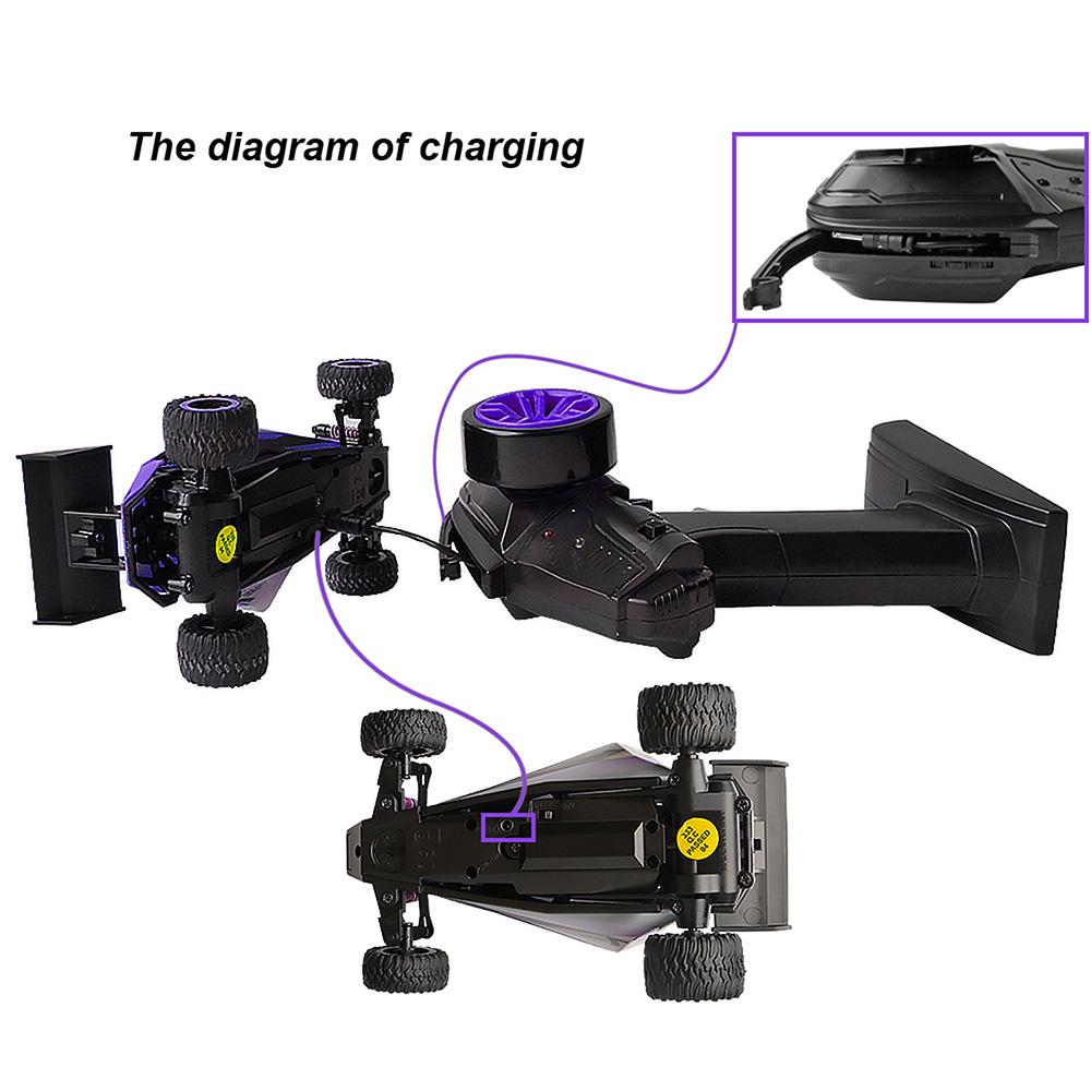 hight resolution of fast 1 32 20kmh mini rc drift baja car purple buggy stunt car toys pocket gift