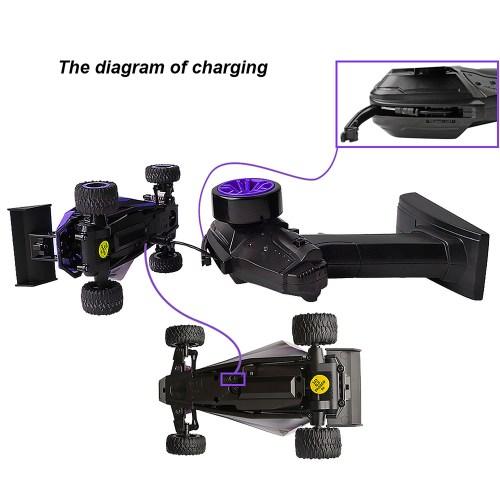 small resolution of fast 1 32 20kmh mini rc drift baja car purple buggy stunt car toys pocket gift