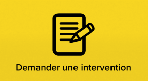 Demander une intervention
