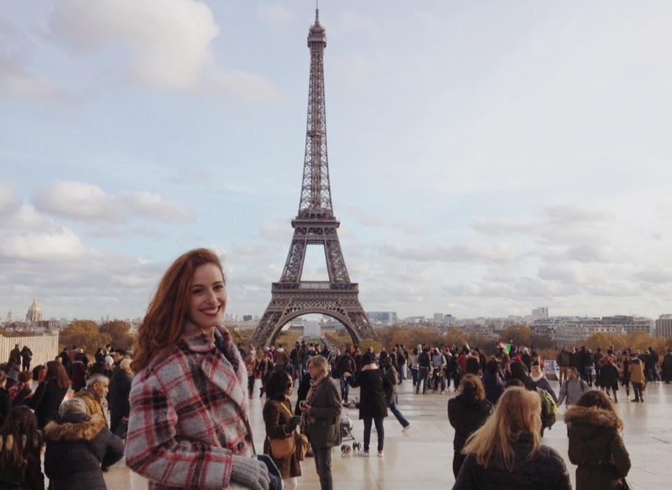 Claudia, espagnole, débute un SVE à la Maison de l'Europe