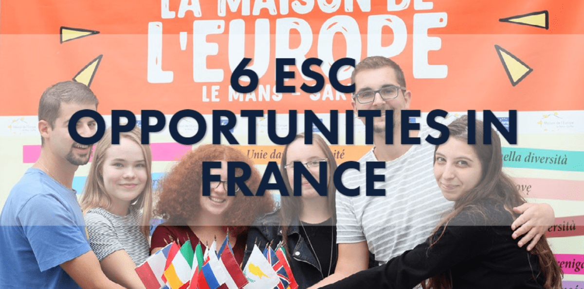 6 ESC vacancies in France