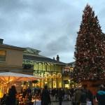冬のロンドン観光に!Covent Gardenのクリスマス・マーケット