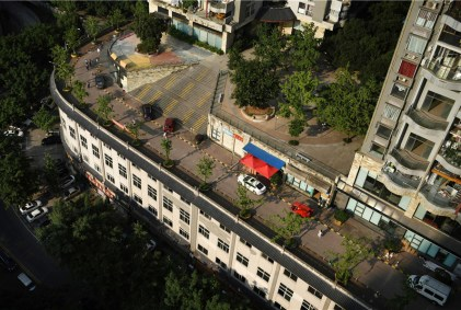 Chongqing's rooftop road raises eyebrows