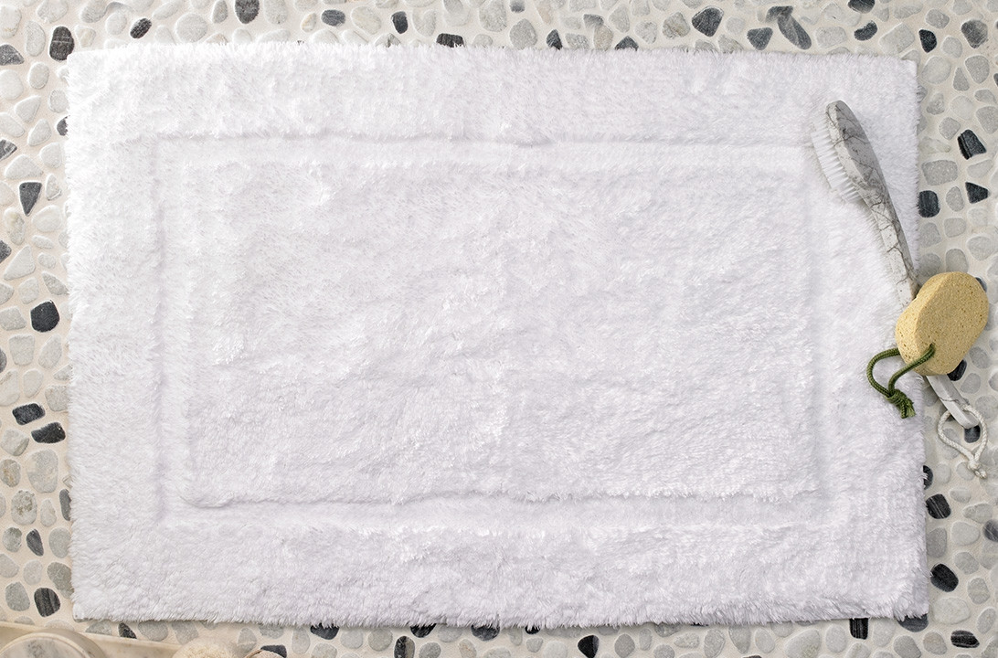 tapis de bain shaggy