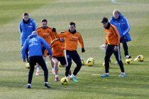 Jesé durante un entrenamiento en Valdebebas / Foto: Mauricio Villarreal