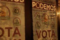 Cartel Podemos