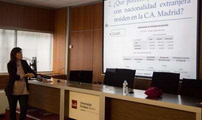 Amaia García, profesora de la Cámara de Comercio de Bilbao