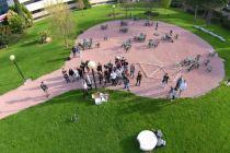 Exhibición Drones Semana de la Comunicación 2016