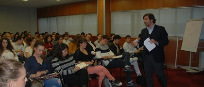 Sergio Navarro, Director de A&G Banca Privada en la Universidad Europea