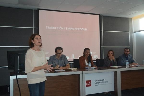 Taller de Traducción y Emprendedores en la Universidad Europea