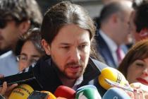 Pablo Iglesias en el debate de Investidura