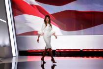 La nueva Primera Dama estadounidense, Melania Trump