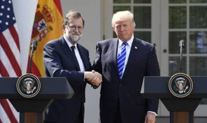 Reunión Mariano Rajoy Donald Trump