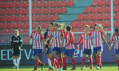 Equipo del Atlético Fem