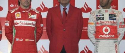 El Banco Santander patrocinó a Mc Laren y Ferrari. | EFE