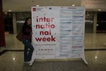 International Week 2018/ Juna Lee, Sabrina Fearon-Melville, Josep Oliver