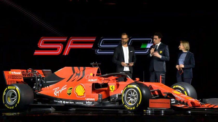 Nuevo Ferrari 2019