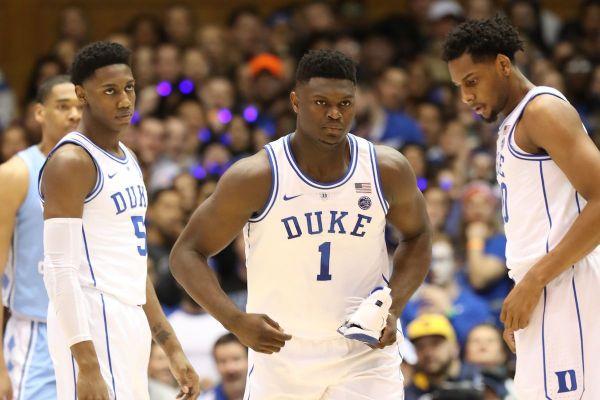 Zion Williamson, jugador de la universidad de Duke