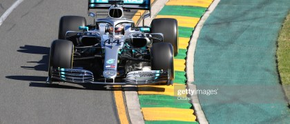 15th March 2019, Melbourne Grand Prix Circuit, Melbourne, Australia; Melbourne Formula One Grand Prix, Friday free practice; Mercedes AMG Petronas Motorsport, Lewis Hamilton (photo by Octane/Action Plus via Getty Images)