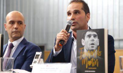 Encuentro del libro sobre Fernando Martín