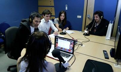 Entrevista a Roberto Enríquez y a Guillermo Ortega en Europea Radio en la #SemanaComunicacionUEM2014