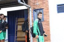 Saúl en su debut en Luanco. Foto: Arturo Herrera.