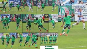 Gol de Mamadou Koné en Leganés. Foto: Arturo Herrera.