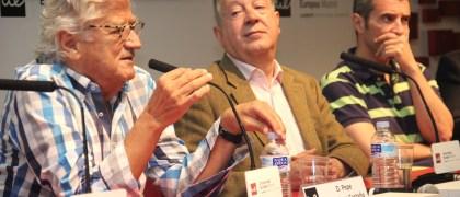 Luis Moser, Joseba Larrañaga, Pepe Domingo Castaño / Foto: María García