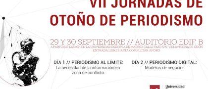 VII Jornadas de Otoño de Periodismo