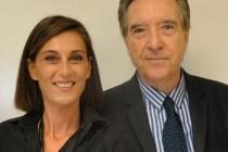 Rosa Mª Mateo con Iñaki Gabilondo