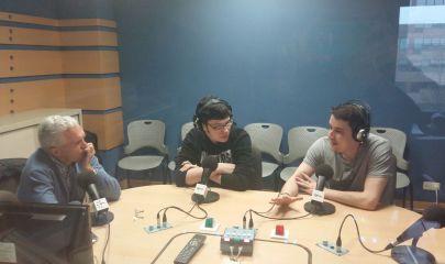 García Caridad en Europea Radio