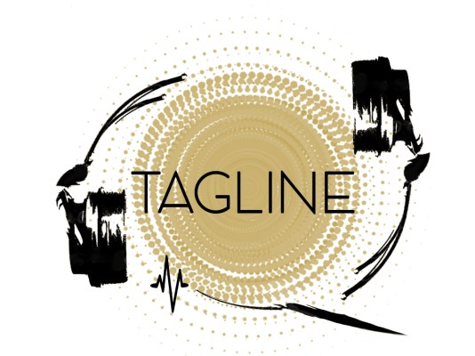 Logo Tagline Auriculares