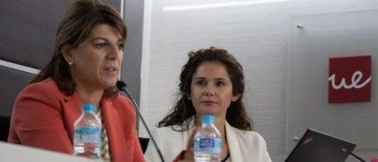Pilar Larrea y Olimpia Peyrona de Campofrío