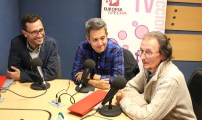 Juanma Trueba, Fernando Sotillo Oñoro y Víctor Charneco