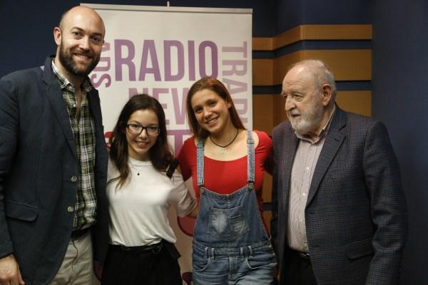 Diego Carcedo y Víctor López en Europea Radio