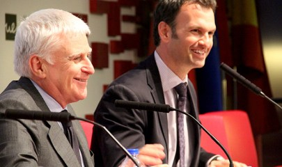 Paolo Vasile junta a Luis Calandre