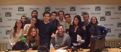 Los alumnos de Periodismo de la Universidad Europea en Al primer Toque