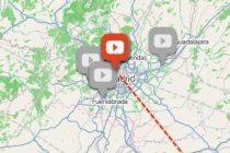 Mapa interactivo de la radio universitaria en España